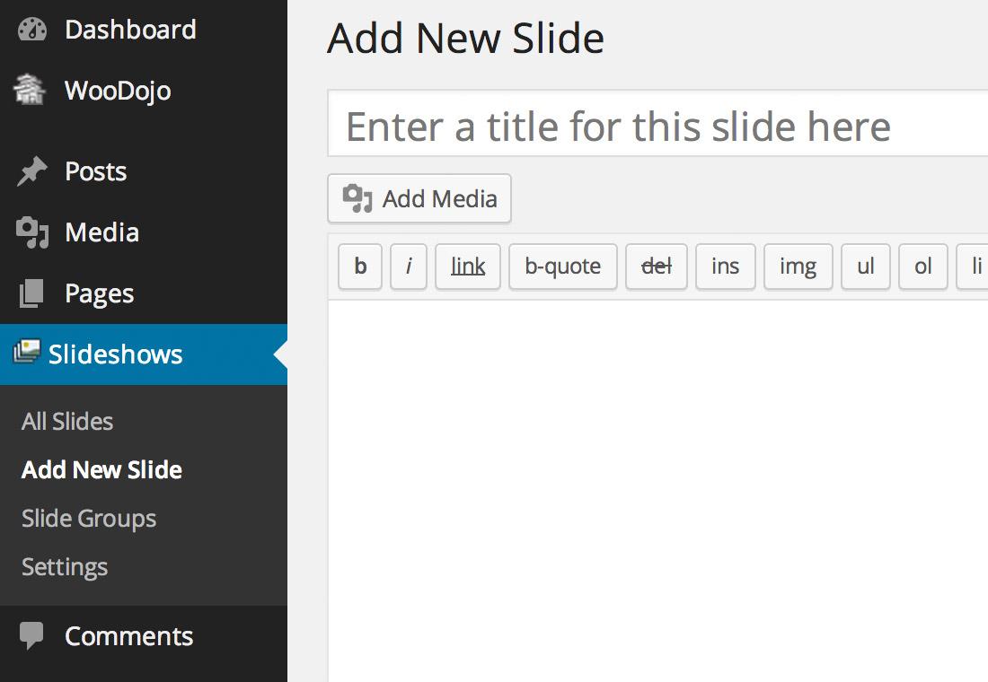Wooslider - a WordPress slideshow plugin