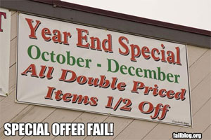 Fail Blog Special Offer