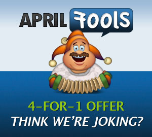 WooThemes April Fools Offer