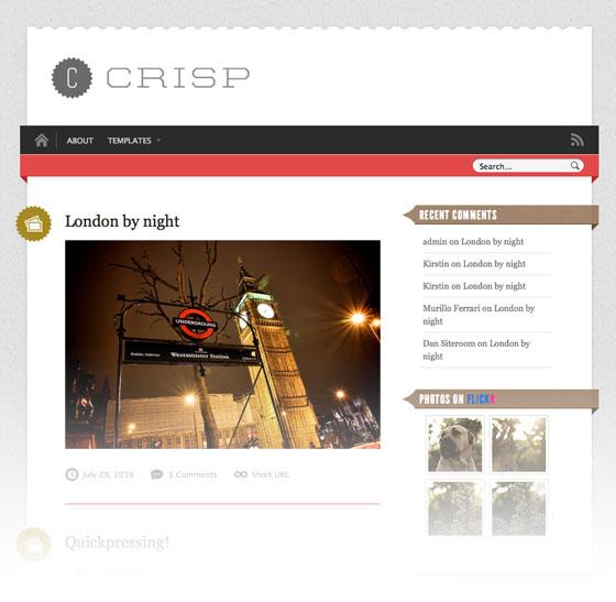 Crisp alternate style