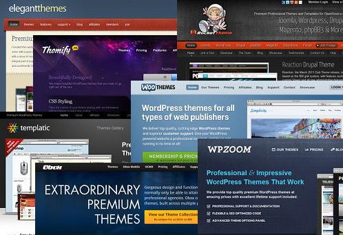 premium-wordpress-theme-club-comparison - WooCommerce