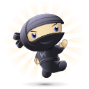 Woo Ninja_kicking small