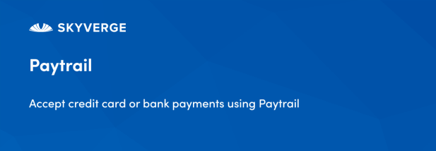 Accept credit card or bank payments using Paytrail