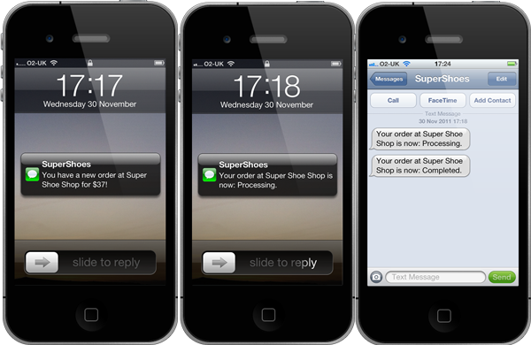 Send, receive and process SMS messages using ActiveXperts