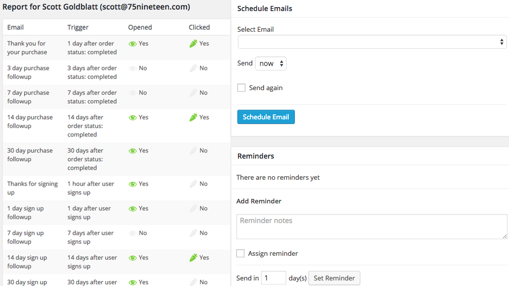 Follow Ups WooCommerce – Follow Up Email