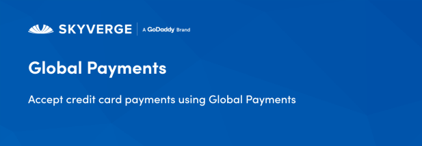 Accept credit card payments using Global Payments