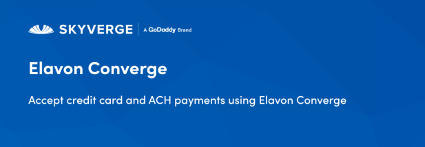 Accept credit card and ACH payments using Elavon Converge