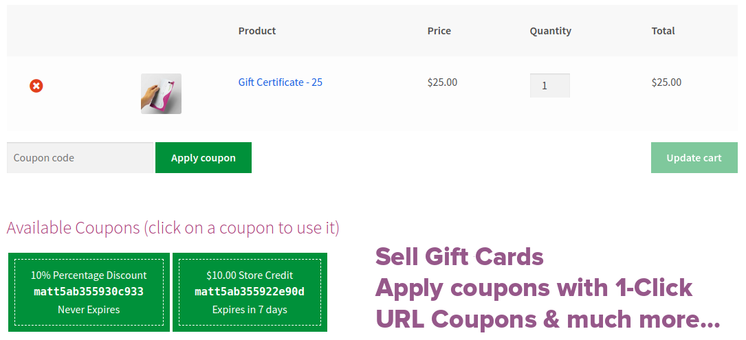 Smart Coupons All In One Woocommerce Coupons System