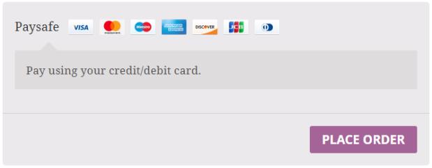 Paysafe checkout option