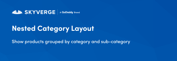 Show products grouped by category and sub-category
