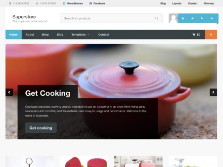 Superstore WooCommerce Theme