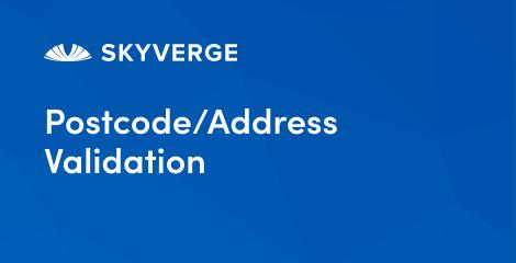Postcode/Address Validation by SkyVerge