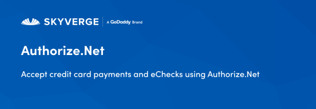 Accept credit card payments and eChecks using Authorize.Net
