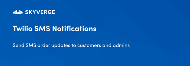 Send SMS order updates to customers and admins