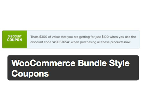 Woocommerce coupon code
