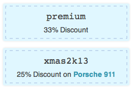 Use shortcodes to display your coupons