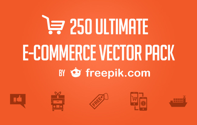 The ultimate free ecommerce icon pack by freepik woothemes woocommerce free icons stopboris Gallery