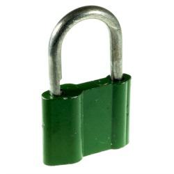 Used padlock green.