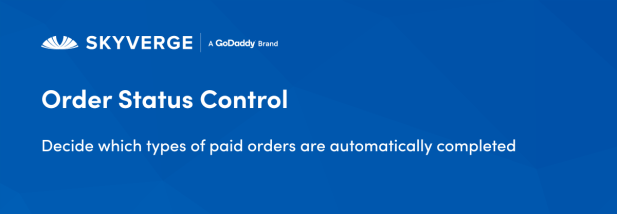 Decide which types of paid orders are automatically completed