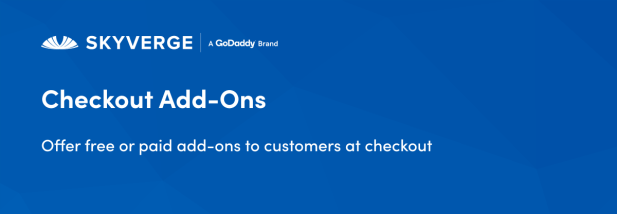 Offer free or paid add-ons to customers at checkout