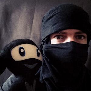 An epic selfie from Sensei Dan Johnson.