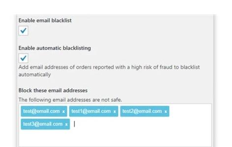 6 blacklisting