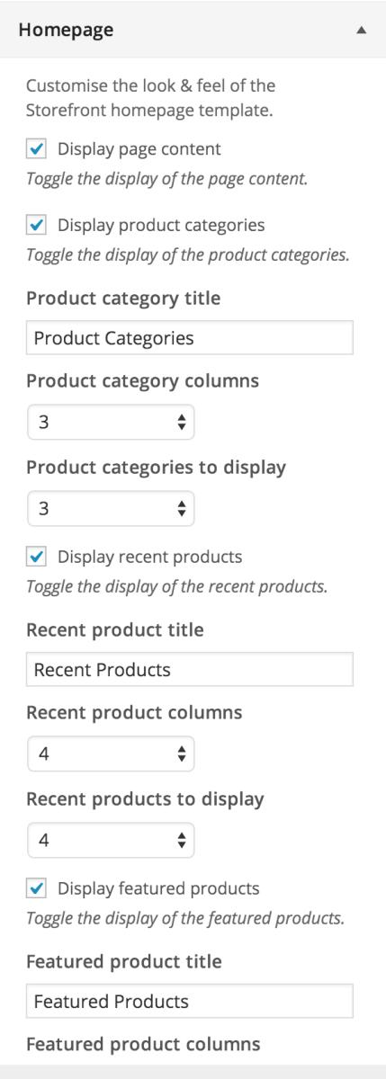 Enjoy a plethora of homepage customisation options.