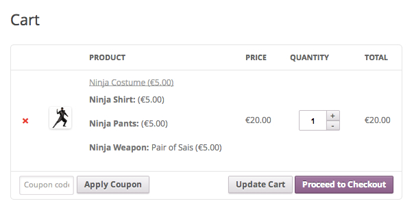 WooCommerce Ninja Forms Product Add-ons