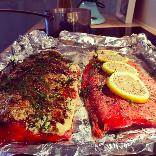 Sockeye for two