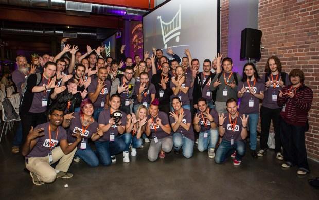 The team at Woo at WooConf 2014