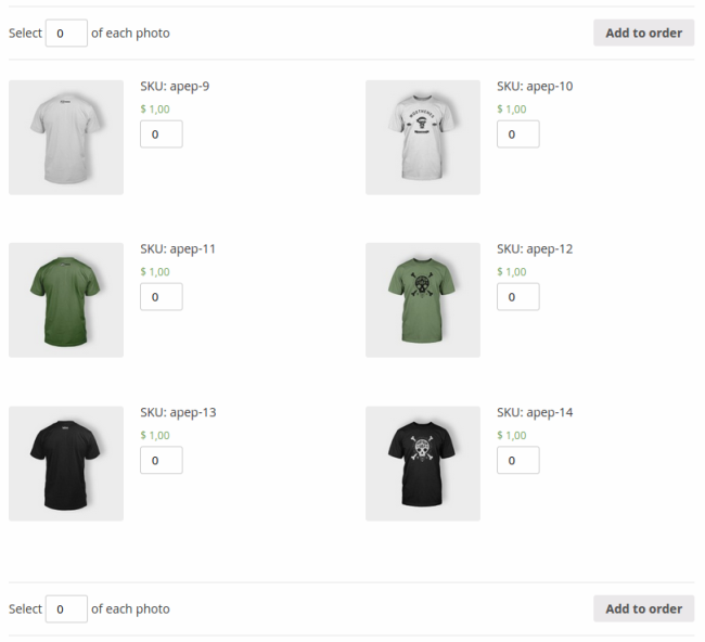 Intuitive photograph purchasing through WooCommerce.