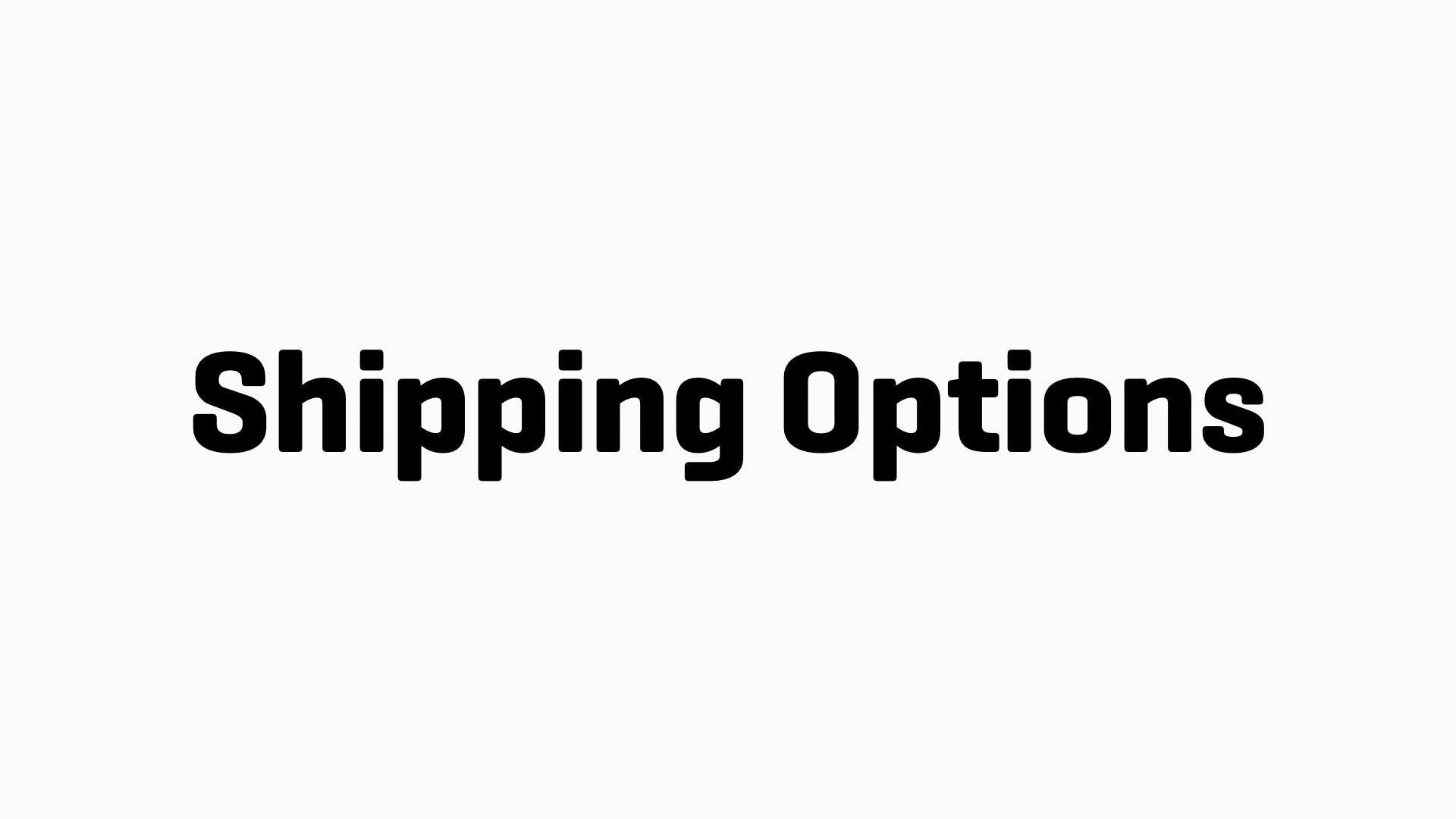 Image result for shipping options