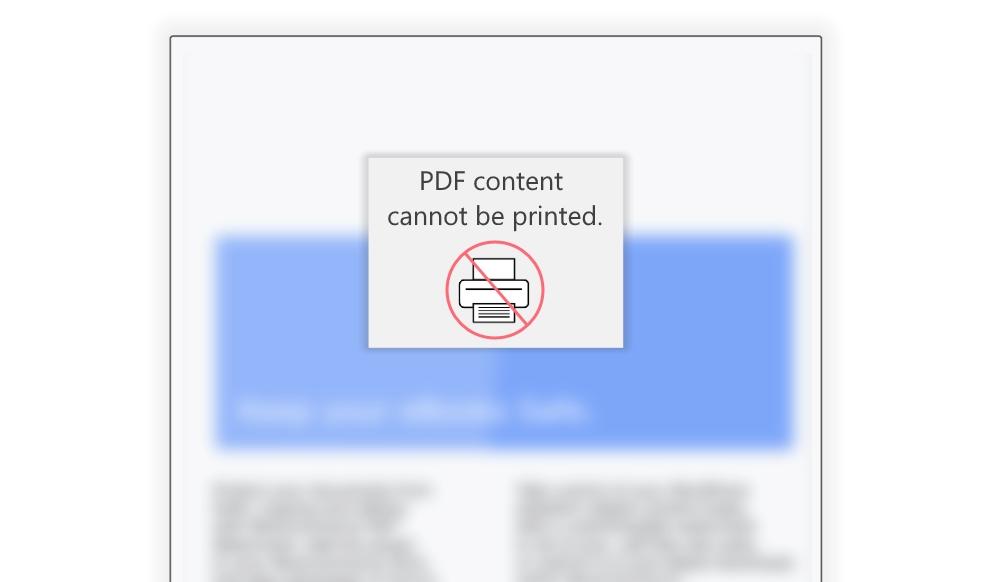 pdf print protect