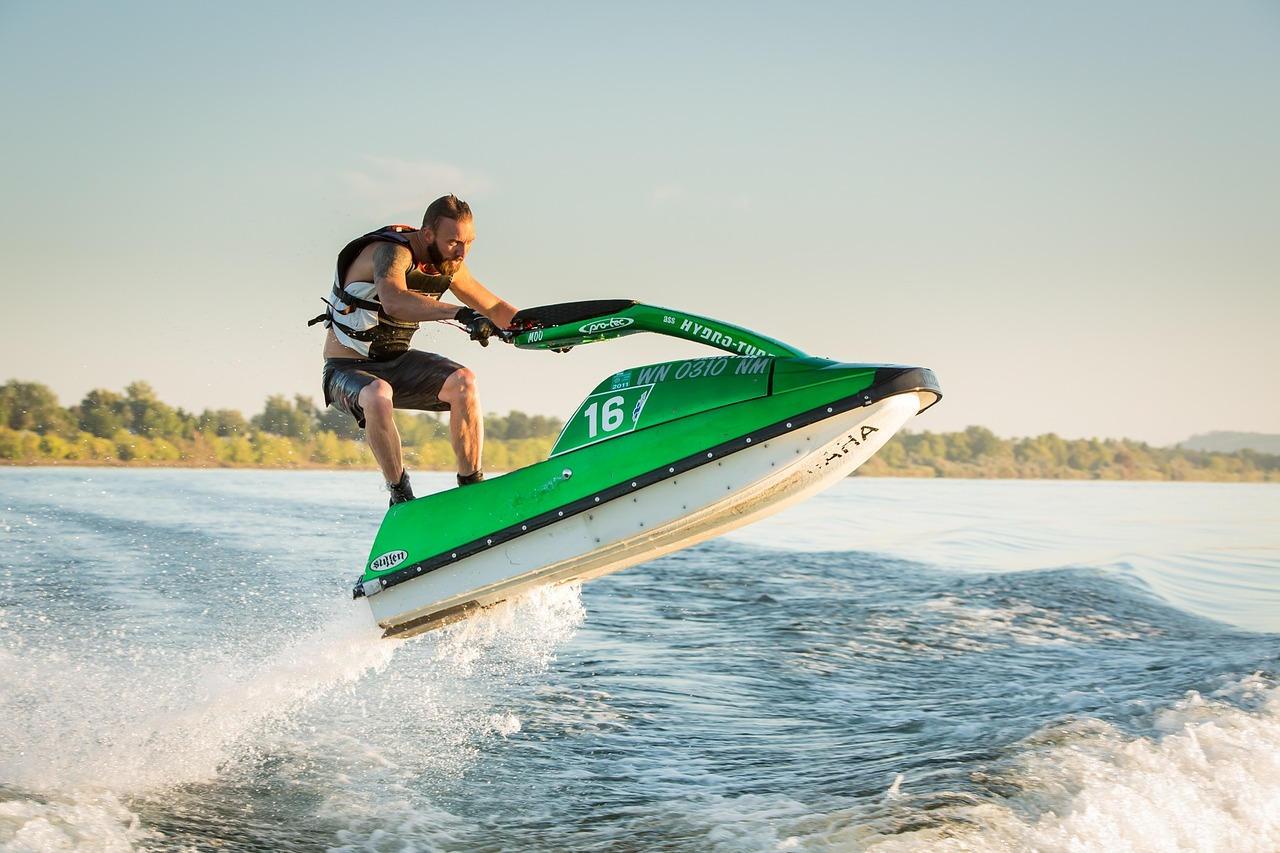 Is your website faster than a jetski?