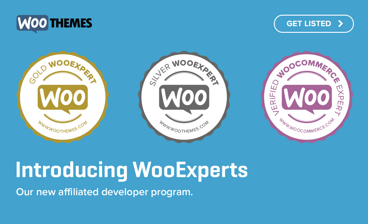 Introducing the new WooExperts program.