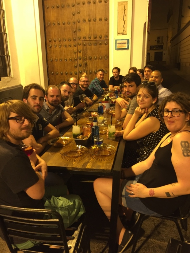 WCEU - Last Dinner with Woo & Automattic