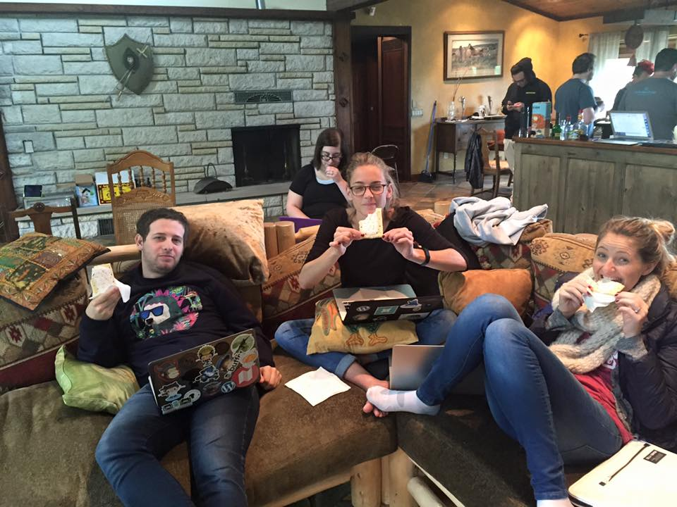 Hackathon with Pop tarts