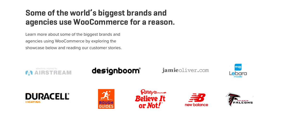 Some brand using WooCommerce