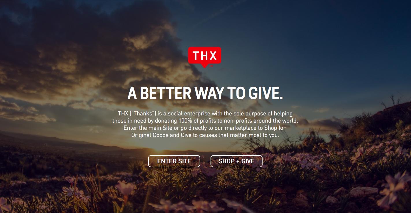 THX custom landing page with the WooCommerce API