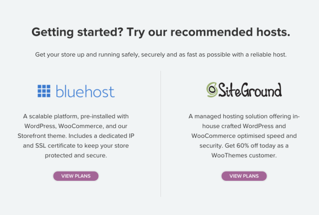 Using a recommended host can benefit your client.