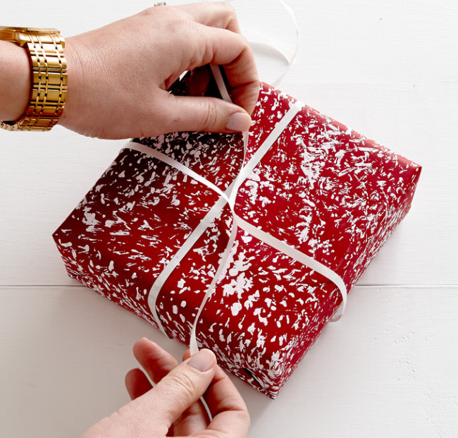 Offering gift wrapping is a simple way to personalize the experience your store offers a customer. Image credit: ProFlowers.com