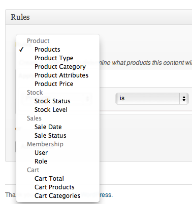 Add in some content to display based on sale end date (or any other criteria).