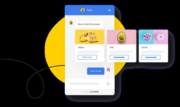 LiveChat chat widget