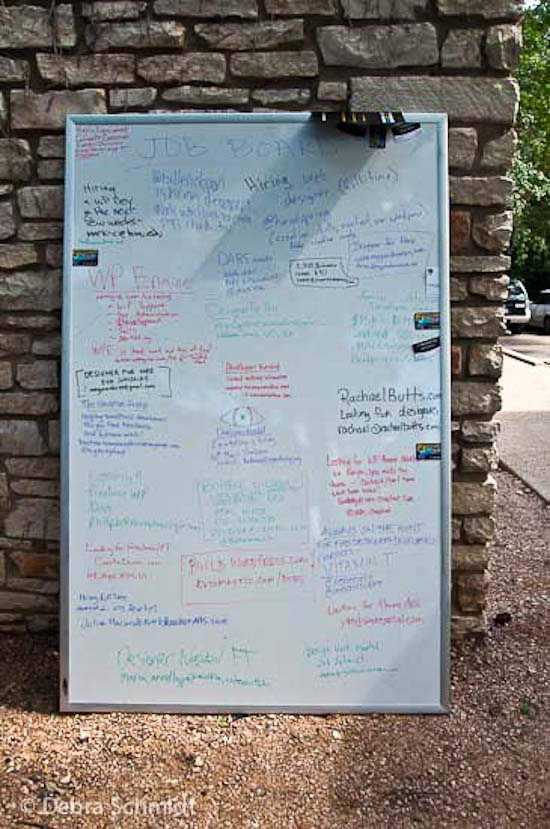 The job board from WordCamp Austin 2012