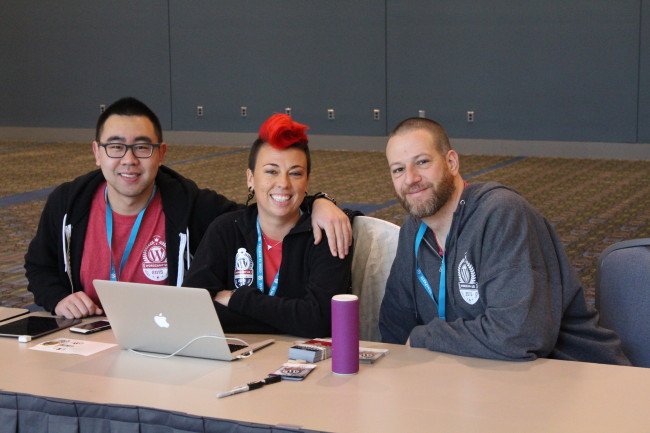 Several Woo and Automattic team members acted as volunteers, a rewarding experience of its own. (img cred)