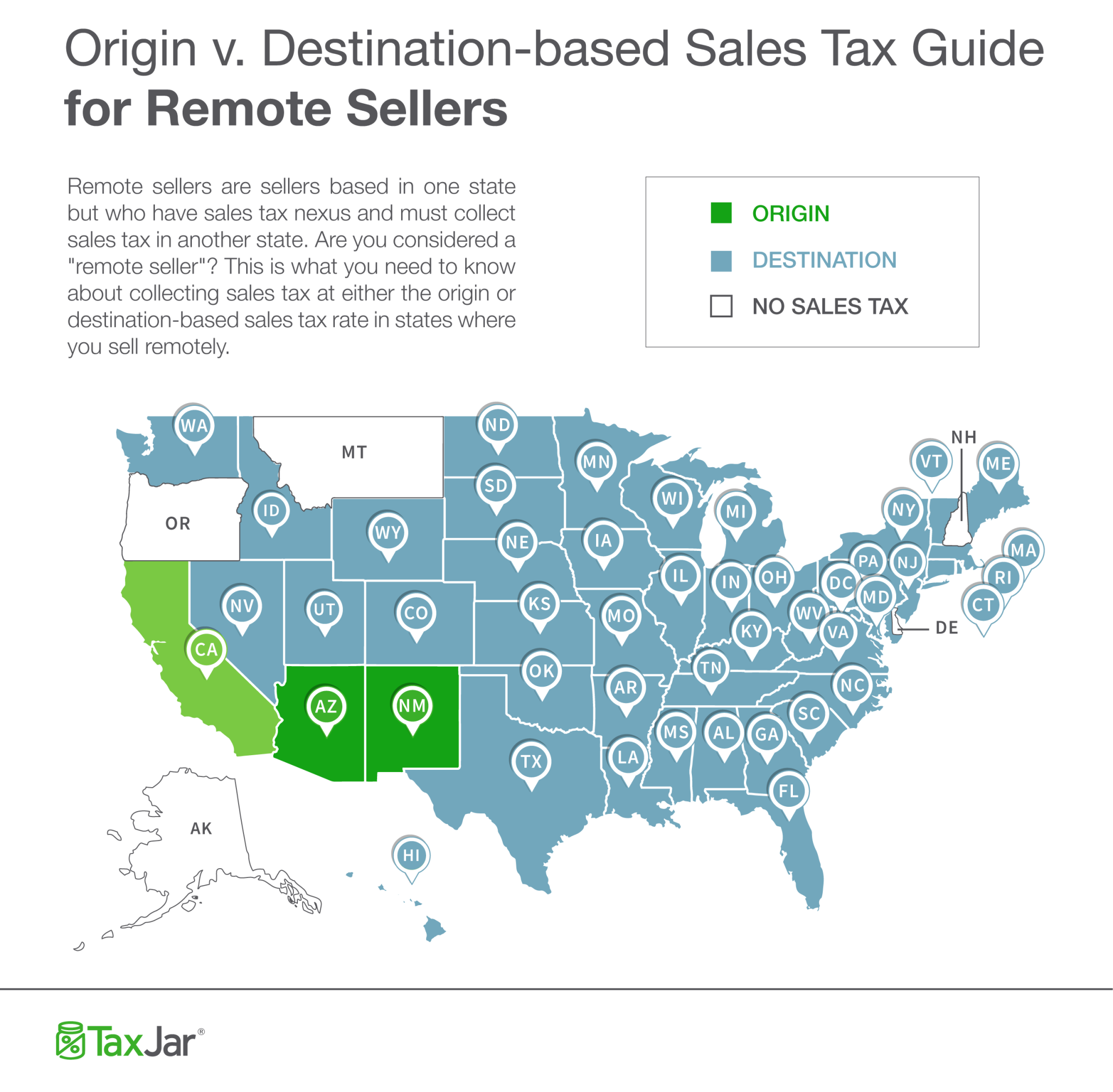 How the tax rules work for remote sellers.
