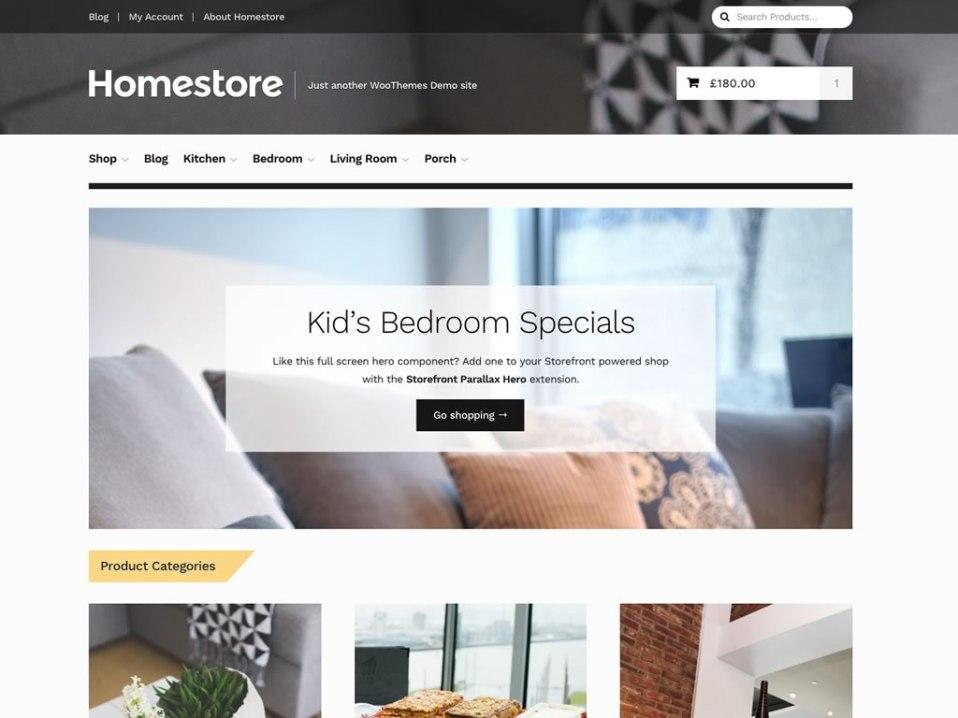Storefront Themes - WooCommerce