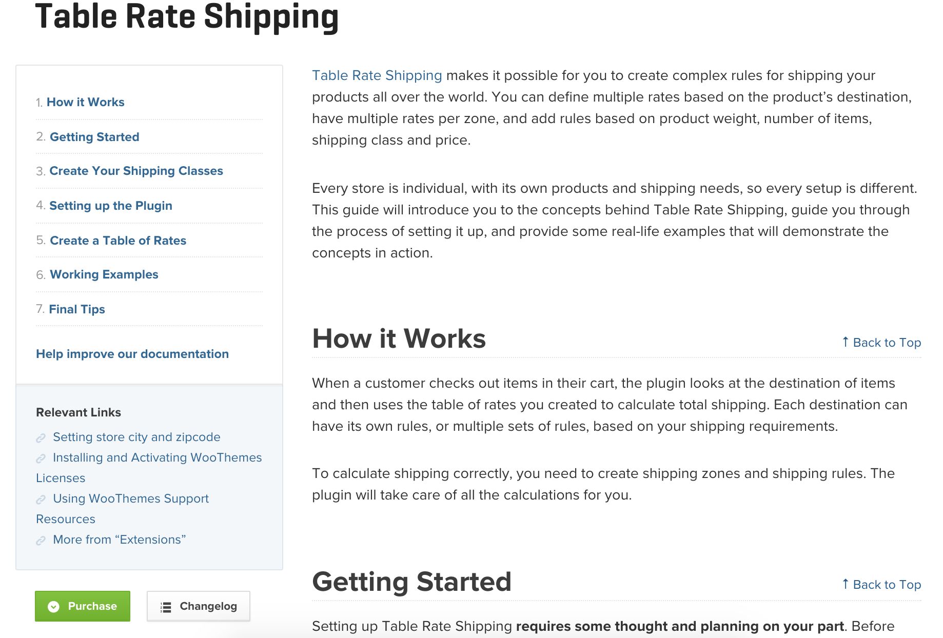 Here's an example from Table Rate Shipping.