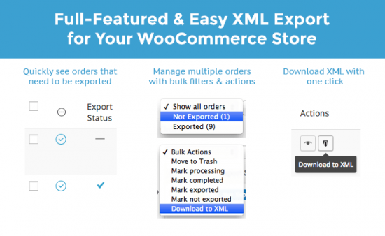 Need XML? You got it.