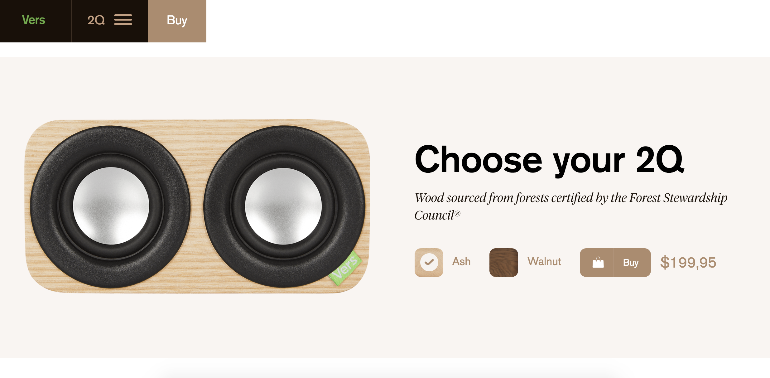 A fittingly beautiful product page, don't you think?